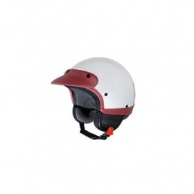 casque vespa classic blanc rouge 605863m01r. Black Bedroom Furniture Sets. Home Design Ideas